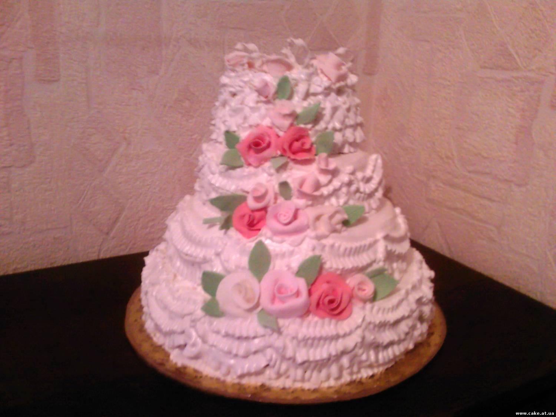 Свадебный торт своими руками рецепт с фото 100
